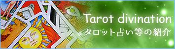 タロット占い等の紹介